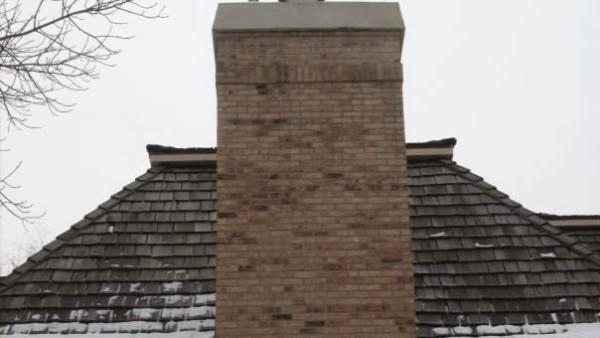 installed chimney