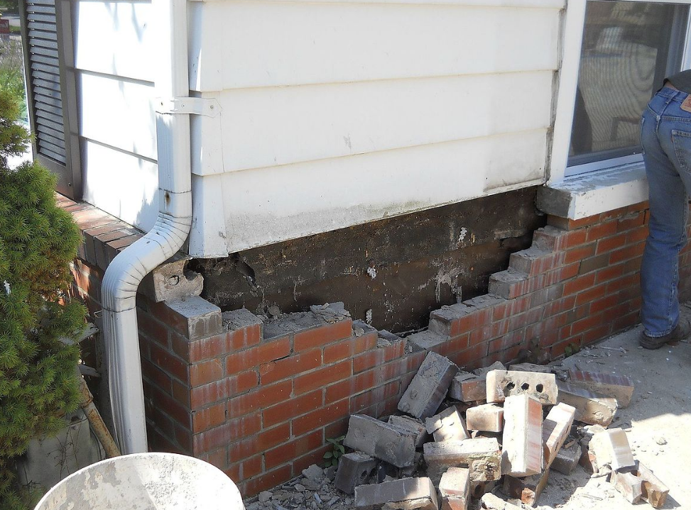 how tuckpoint mortar mix work with existing brickwork