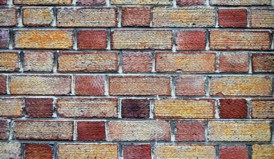 masonry and artisan work brick wall per square foot